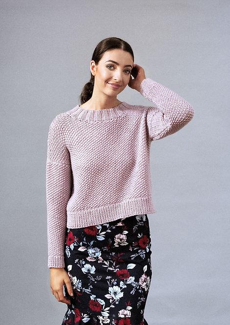 Chunky Moss Sweater - Sample Garment