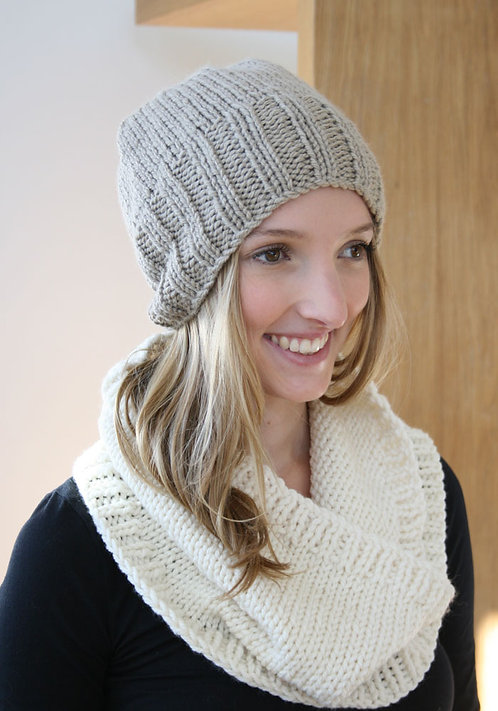 348 Odette Hat Cowl - digital download