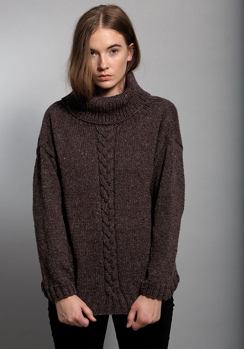 389 Ursula Cable Sweater - digital download