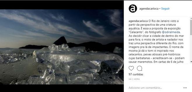 Instagram Agenda Carioca