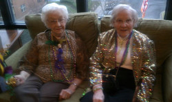 Mardi Grad - with some classy ladies.