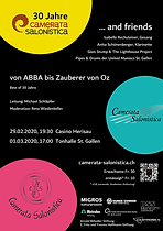 Flyer Best of 30 Jahre Camerata Salonist
