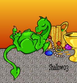 Green Greed Dragon