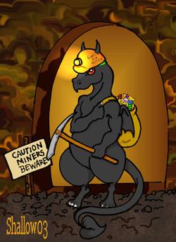 Industrious Black Dragon