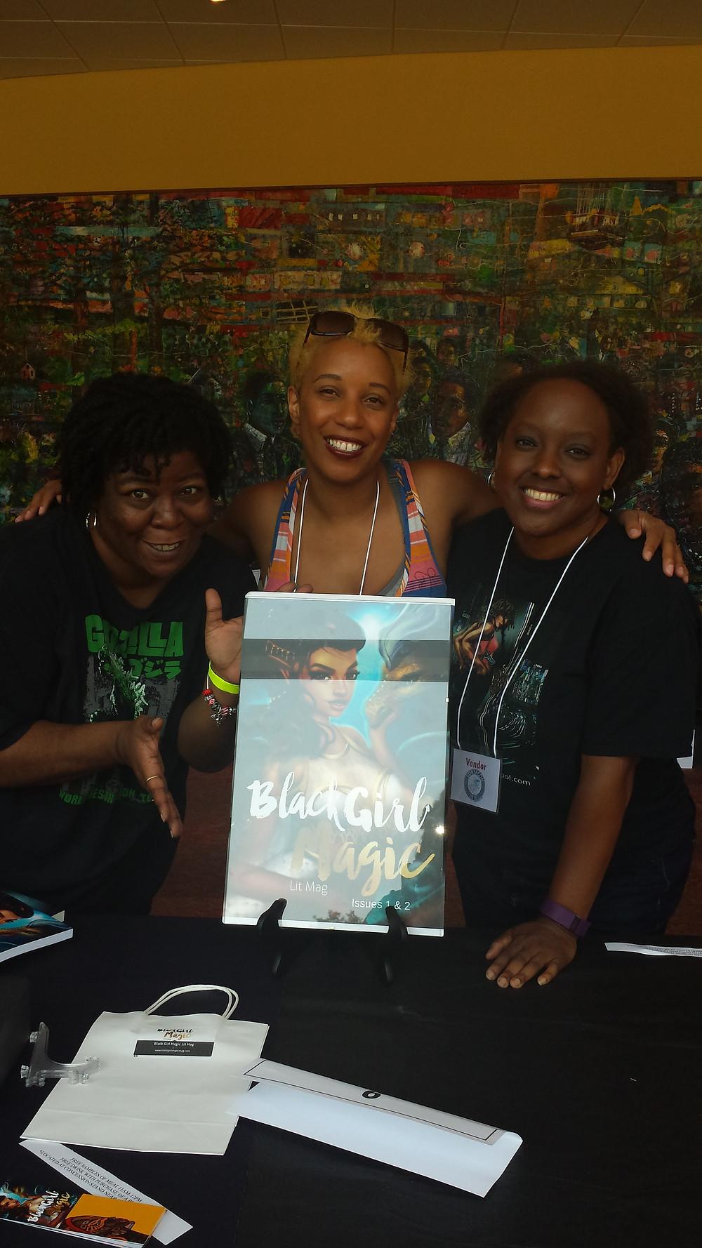 Networking :) with Kenesha Williams and Nicole Givens Kurtz