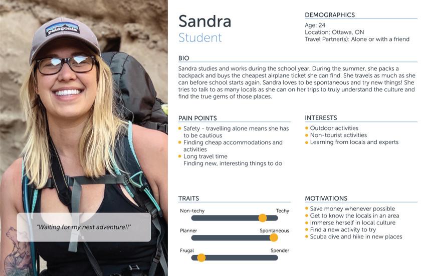 Sandra - Student