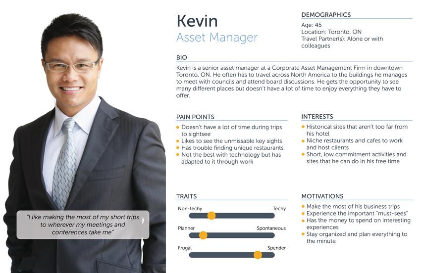 Kevin - Asset Manager