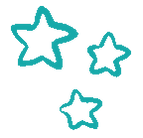 3 little stars dark turquoise png.png