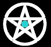 2.2 White Pentagram with White Circle +