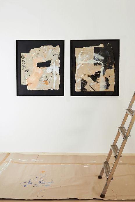 'Framed floorpaintings'
