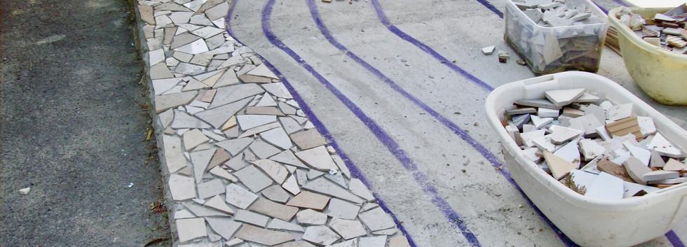 Mosaio Andreina - Sagrato primavera 2009