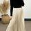 Thumbnail: Champagne Pleated Maxi Skirt