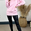 Thumbnail: Pink 'BLESSED' sweatshirt