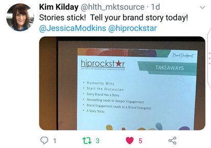 Tell your brand story