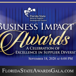 FL STATE MINORITY SUPPLIER DEVELOPMENT COUNCIL  TO HONOR MINORITY-OWNED BUSINESSES & CORPORATIONS