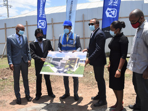 Ground Broken for the Construction of Cardiac Ward and Overnight Suite at BHC