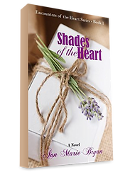 Shades of the Heart Book by Ann Marie Bryan Christian Fiction Author