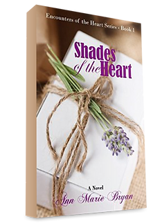 Shades of the Heart Book 1 by Ann Marie Bryan Christian Fiction Author