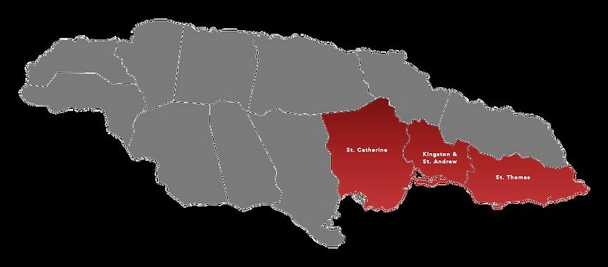 Jamaica Map SERHA