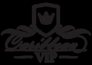 Caribbean VIP Logo Black