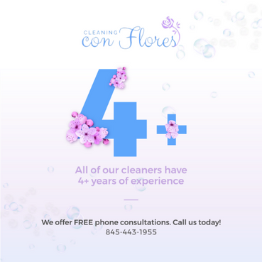 Cleaning Con Flores