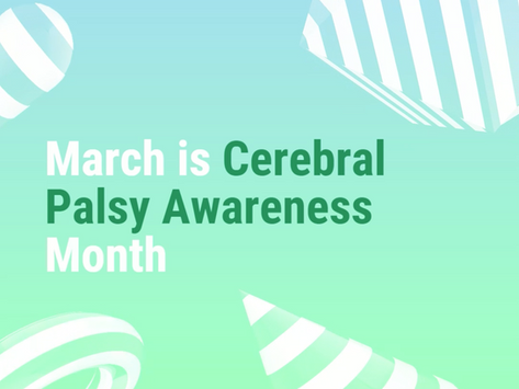 Giveaway in Honor of Cerebral Palsy Month