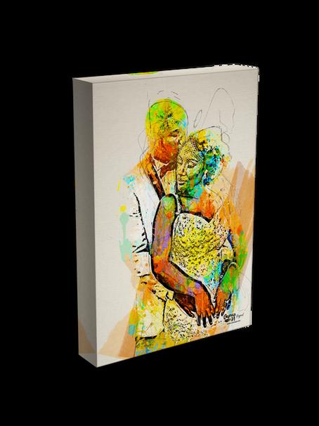 Two-Person Artwork