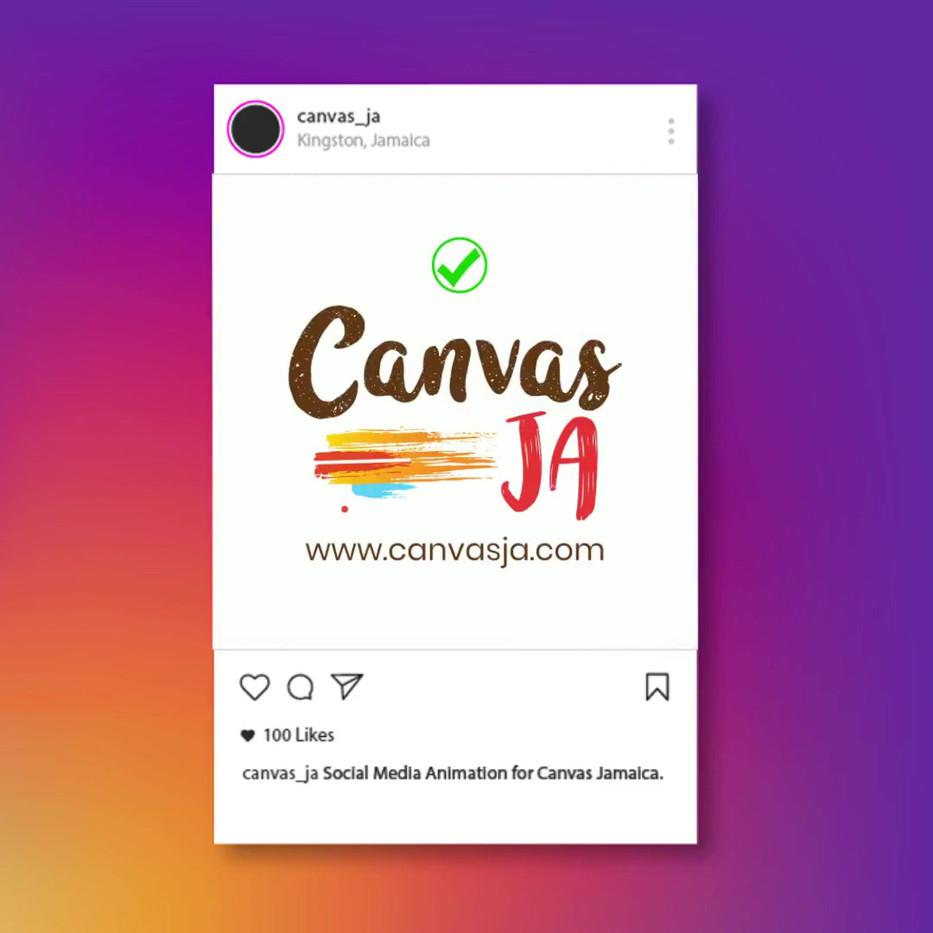 Canvas JA Animated Post