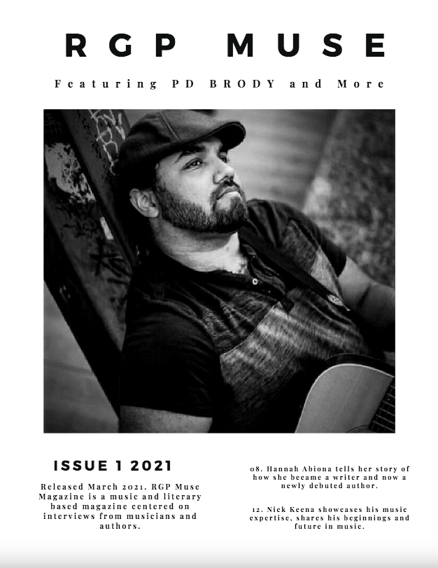 RGP Muse Magazine Cover, March Issue 2021