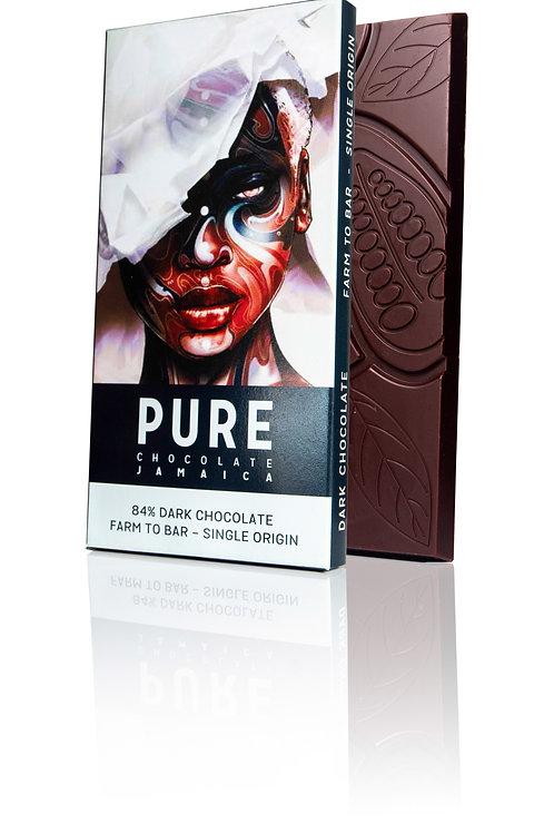 84% PURE Dark Chocolate