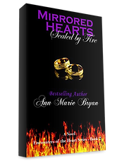 Mirrored Hearts Sealed By Fire Book by Ann Marie Bryan Christian Fiction Author