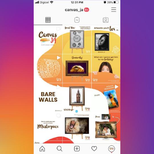 Canvas JA Instagram Feed