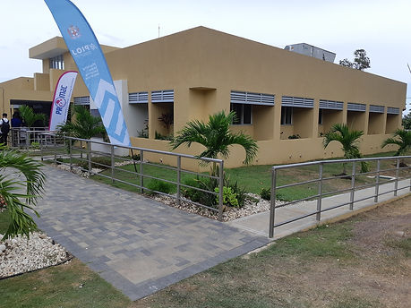 PROMAC building at Spanish Town Hospital