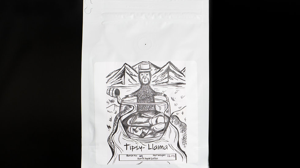 Tipsy-Llama Barrel Aged Coffee