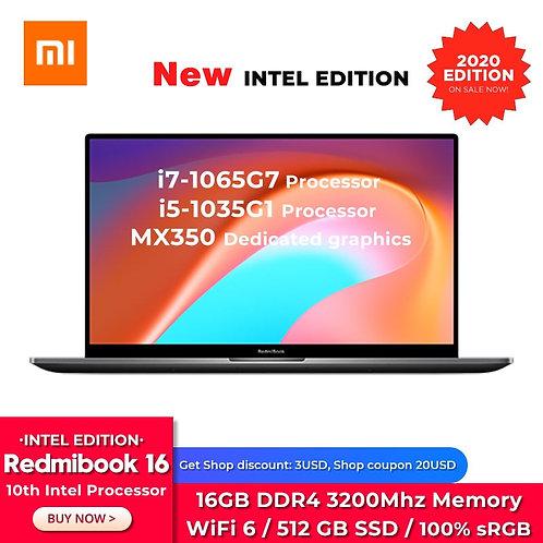 Redmibook 16 Laptop i7/i516GB RAM 512GB SSD FHD Screen 2GB DDR5