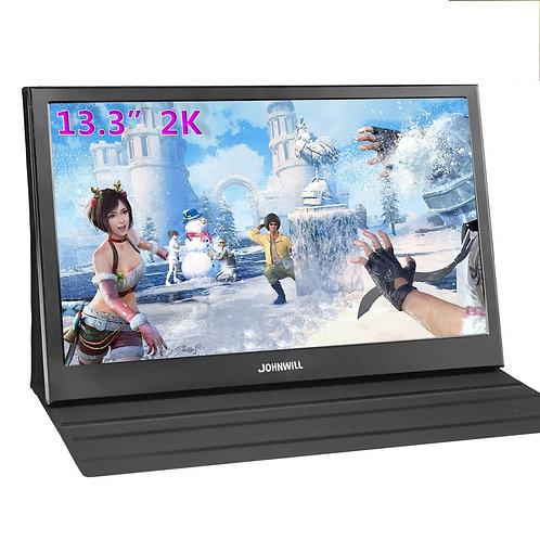 13.3 Inch Portable Computer Monitor PC 2K 2560x1440 HDMI PS3 PS4 Xbo X360