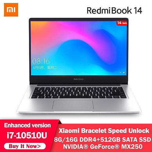 RedmiBook Pro 14 Inch Mi I7-10510u MX250 16GB/8GB DDR4 512GB SSD