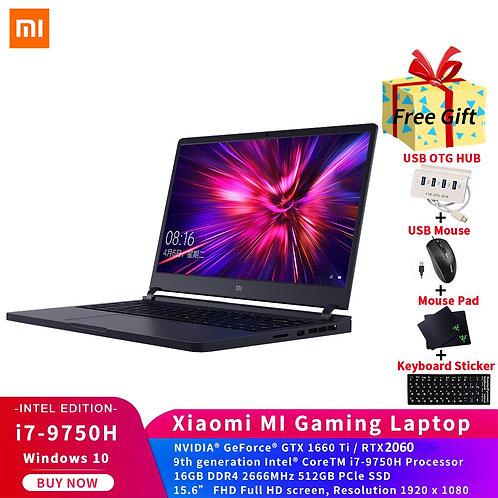 Mi Game Laptop 15.6 Inch Intel Core i7 16GB DDR4 512GB SSD GTX1660Ti 6GB GDDR6
