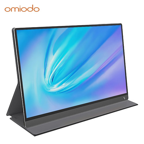 "15.6"" Monitor DHR 1080p Built in 10800mAh Battery Mobile With USB C HDMI"