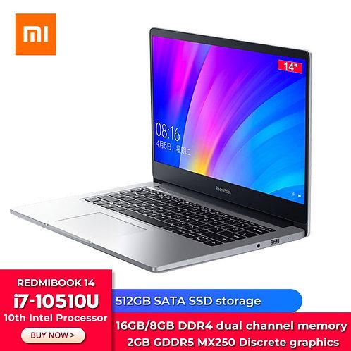 RedmiBook 14 Laptop Enhanced I7 MX250 Graphics Card 16GB/8GB DDR4 512GB SSD
