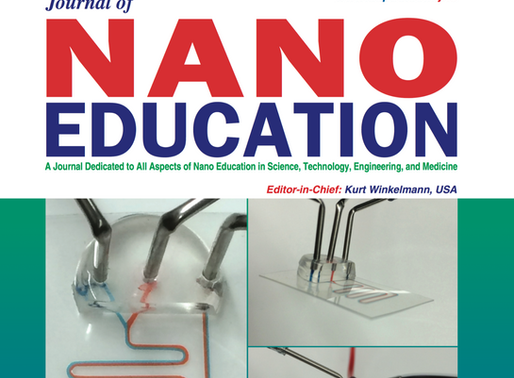 PETLs on the cover of Journal of NanoEducation