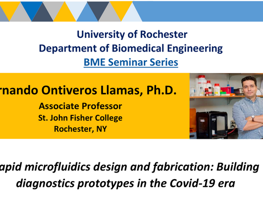 Seminar Series at the University of Rochester