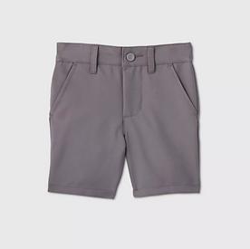 Toddler Boys' Quick Dry Uniform Shorts - GRAY