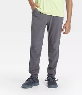 Boys' Stretch Woven Jogger Pants