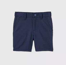 Toddler Boys' Quick Dry Uniform Shorts - NAVY