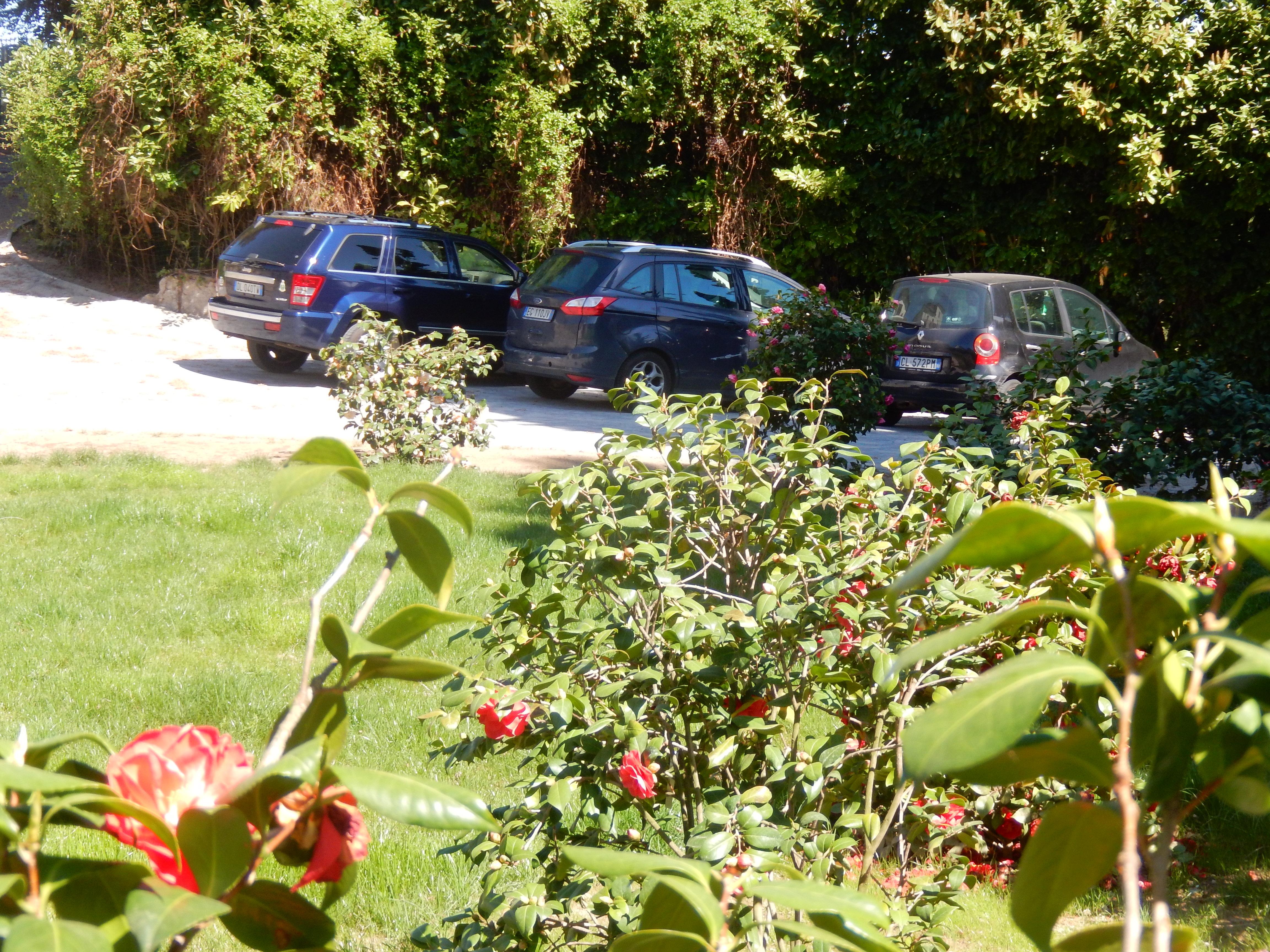 Il parcheggio a White Lilac