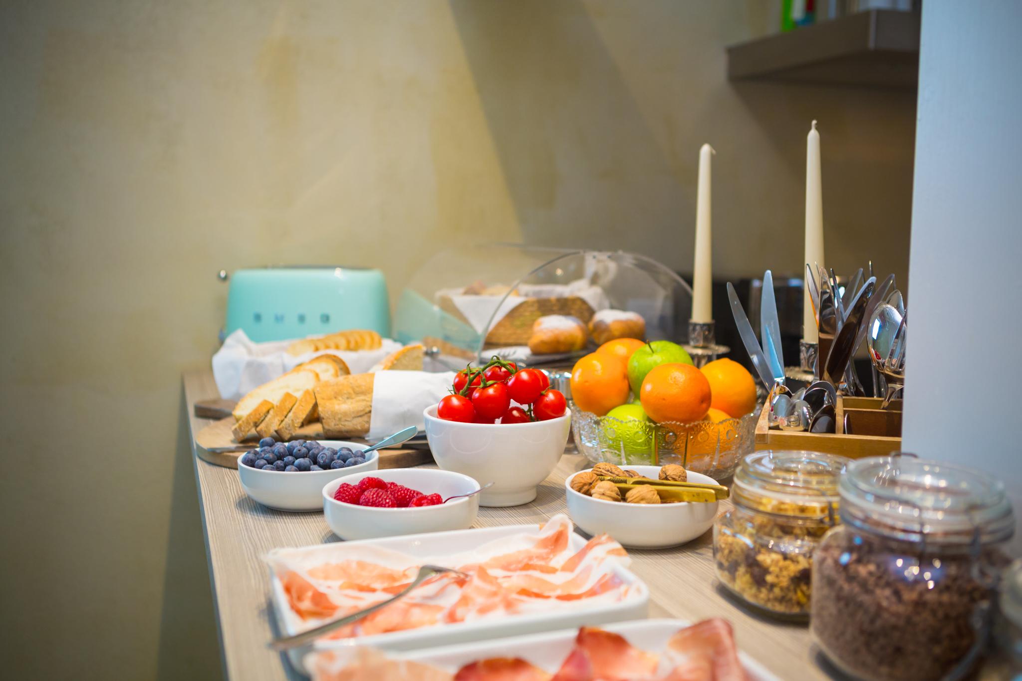 colazione, frutta, buffet, salute, r