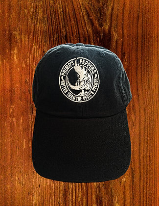 """Primo's Peppers """"Hotter Than The Devil's Pecker"""" Deluxe Cotton Hat"""