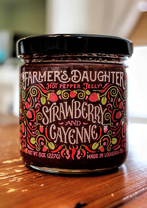"""The Farmer's Daughter® """"Strawberry and Cayenne"""" Hot Pepper Jelly"""