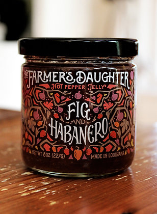 "The Farmer's Daughter® ""Fig and Habanero"" Hot Pepper Jelly"